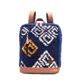 Achiote Guatemalan Goods Elementos Wool Backpack - Agua