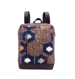 Achiote Guatemalan Goods Elementos Wool Backpack - Tierra