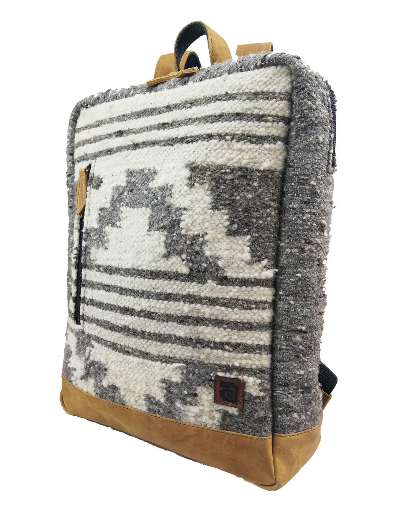 Achiote Guatemalan Goods Elementos Wool Backpack - Zaculeu