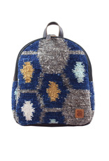 Achiote Guatemalan Goods Elementos Wool Mini Backpack - Tierra