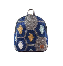 Achiote Guatemalan Goods Elementos Wool Mini Backpack - Tierra