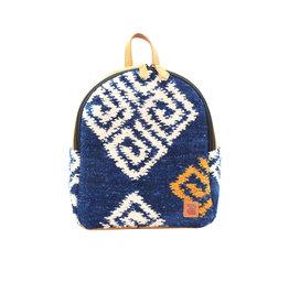 Achiote Guatemalan Goods Elementos Wool Mini Backpack - Agua