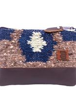 Achiote Guatemalan Goods Elementos Wool Pouch - Tierra