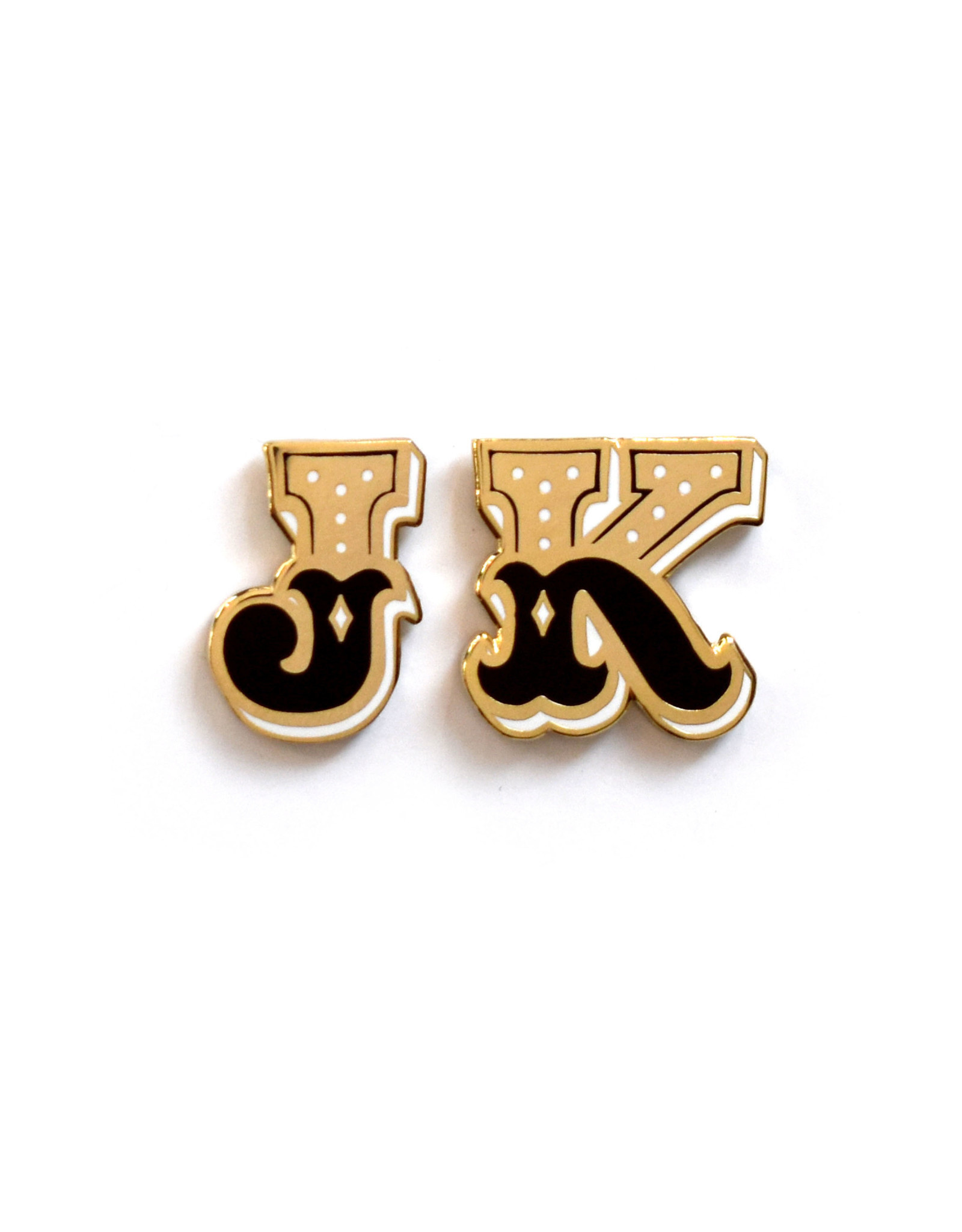 Frog & Toad Press Enamel Letter Pin