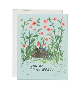 You're the Best Gnome Greeting Card