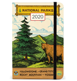Cavallini 2020 Weekly Planner - National Parks