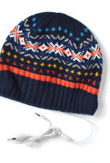Jacquard Headphone Beanie