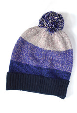 Marled Wool Colorblock Hat