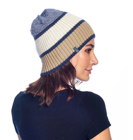 Beanie - Color Block - Gold
