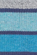 Shupaca Beanie - Color Block - Aqua