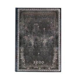 Paperblanks 2020 Midi Planner - Midnight Steel