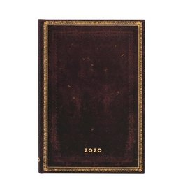 Paperblanks 2020 Ultra Planner - Black Moroccan