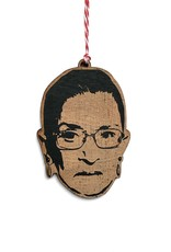 Letter Craft Ruth Bader Ginsburg RBG Wooden Ornament