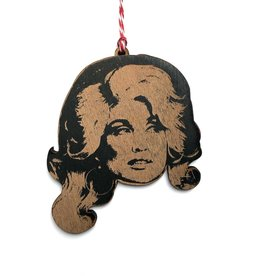 Dolly Parton Wooden Ornament