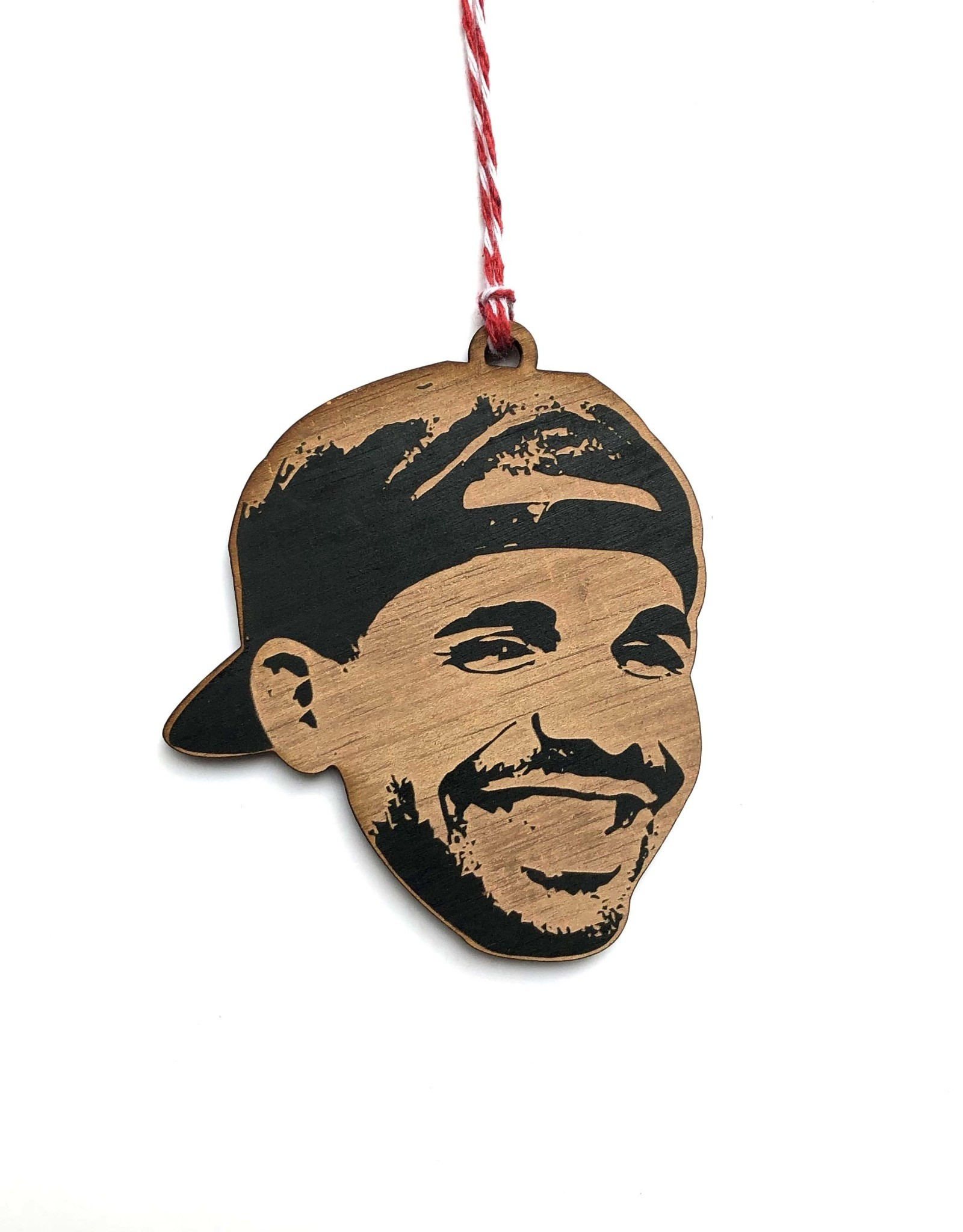 Drake Wooden Ornament