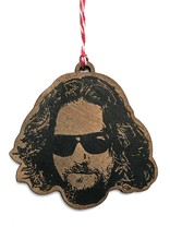 Letter Craft Jeff Bridges Wooden Ornament