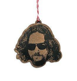 The Dude (Jeff Bridges) Wooden Ornament