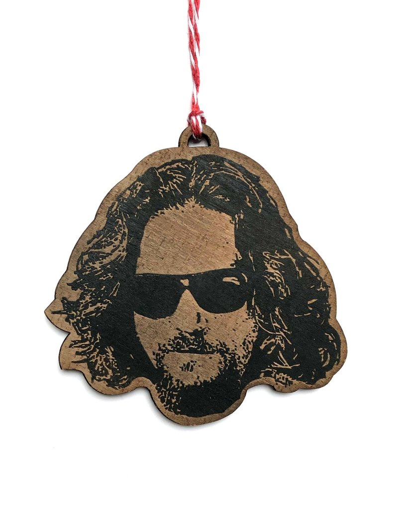 Letter Craft Jeff Bridges Wooden Ornament