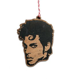 Letter Craft Prince Wooden Ornament