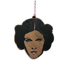 Letter Craft Princess Leia Wooden Ornament