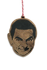Letter Craft Mr. Bean Wooden Ornament