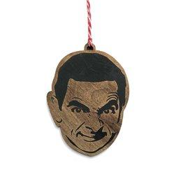 Letter Craft Mr. Bean Wooden Ornament