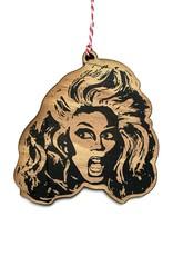 Letter Craft RuPaul (Drag) Wooden Ornament
