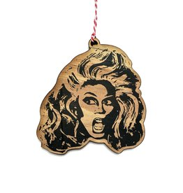 Letter Craft RuPaul (Drag) Wooden Ornament