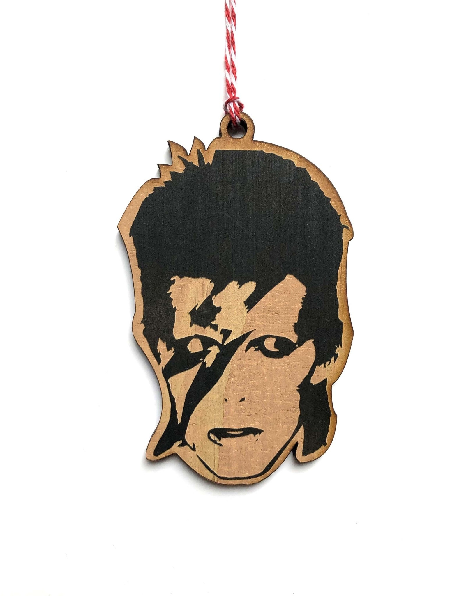 Letter Craft David Bowie Wooden Ornament
