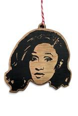 Cardi B Wooden Ornament