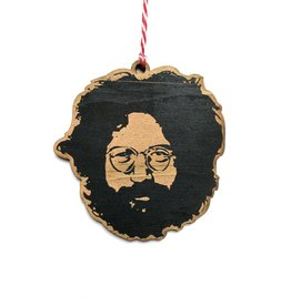 Letter Craft Jerry Garcia Wooden Ornament