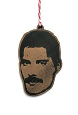 Letter Craft Freddie Mercury Wooden Ornament