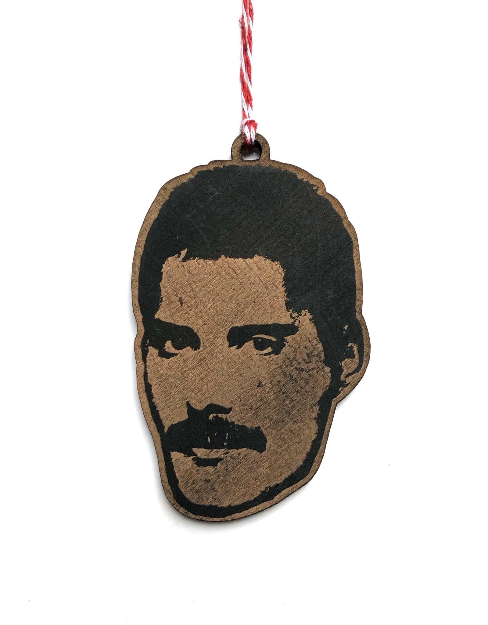 Letter Craft Freddie Mercury Wooden Ornament