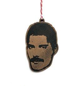 Freddie Mercury Wooden Ornament