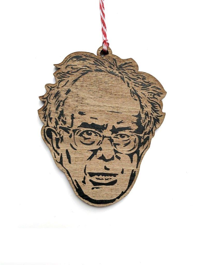 Letter Craft Bernie Sanders Wooden Ornament