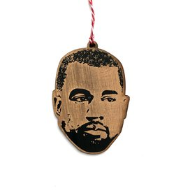 Kanye West Wooden Ornament