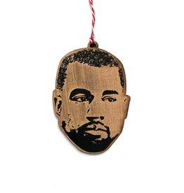 Letter Craft Kanye West Wooden Ornament