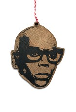 RuPaul Wooden Ornament