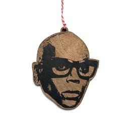 RuPaul Wooden Ornament