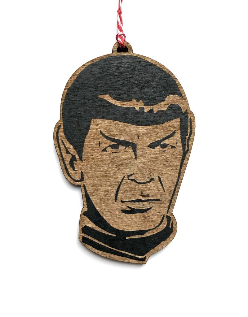 Letter Craft Spock Wooden Ornament