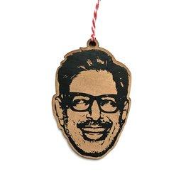 Letter Craft Jeff Goldblum Wooden Ornament