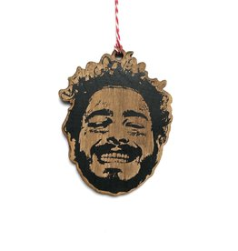 Post Malone Wooden Ornament