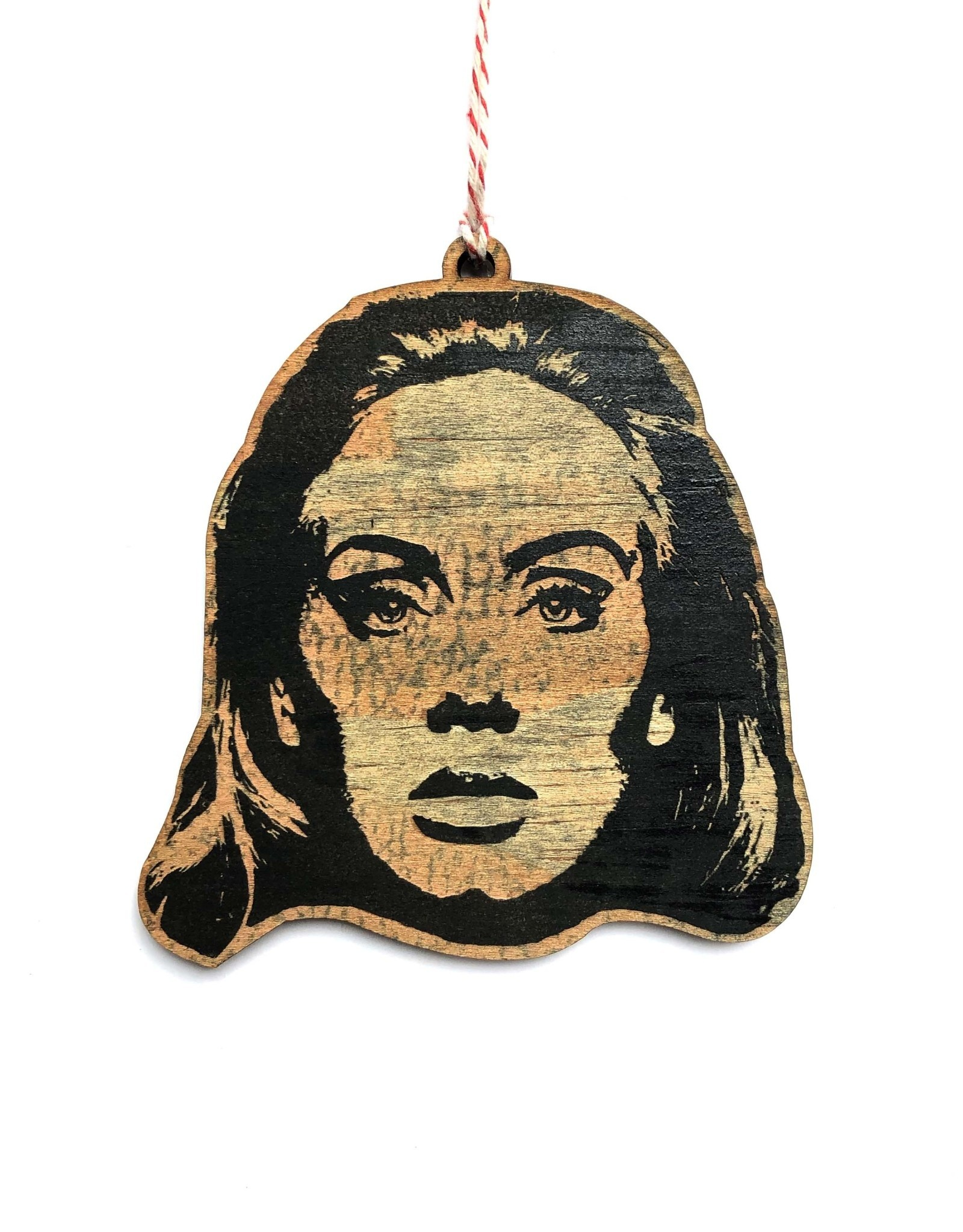 Adele Wooden Ornament