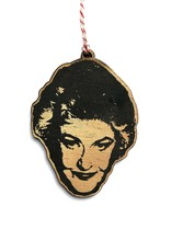 Bea Arthur Wooden Ornament