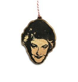 Bea Arthur Wooden Ornament
