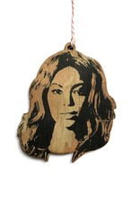 Letter Craft Beyonce Wooden Ornament