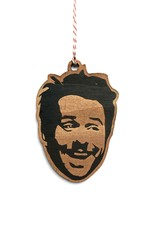 Charlie Day Wooden Ornament
