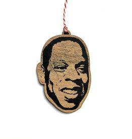 Jay Z Wooden Ornament