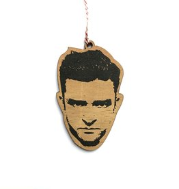 Letter Craft Justin Timberlake Wooden Ornament