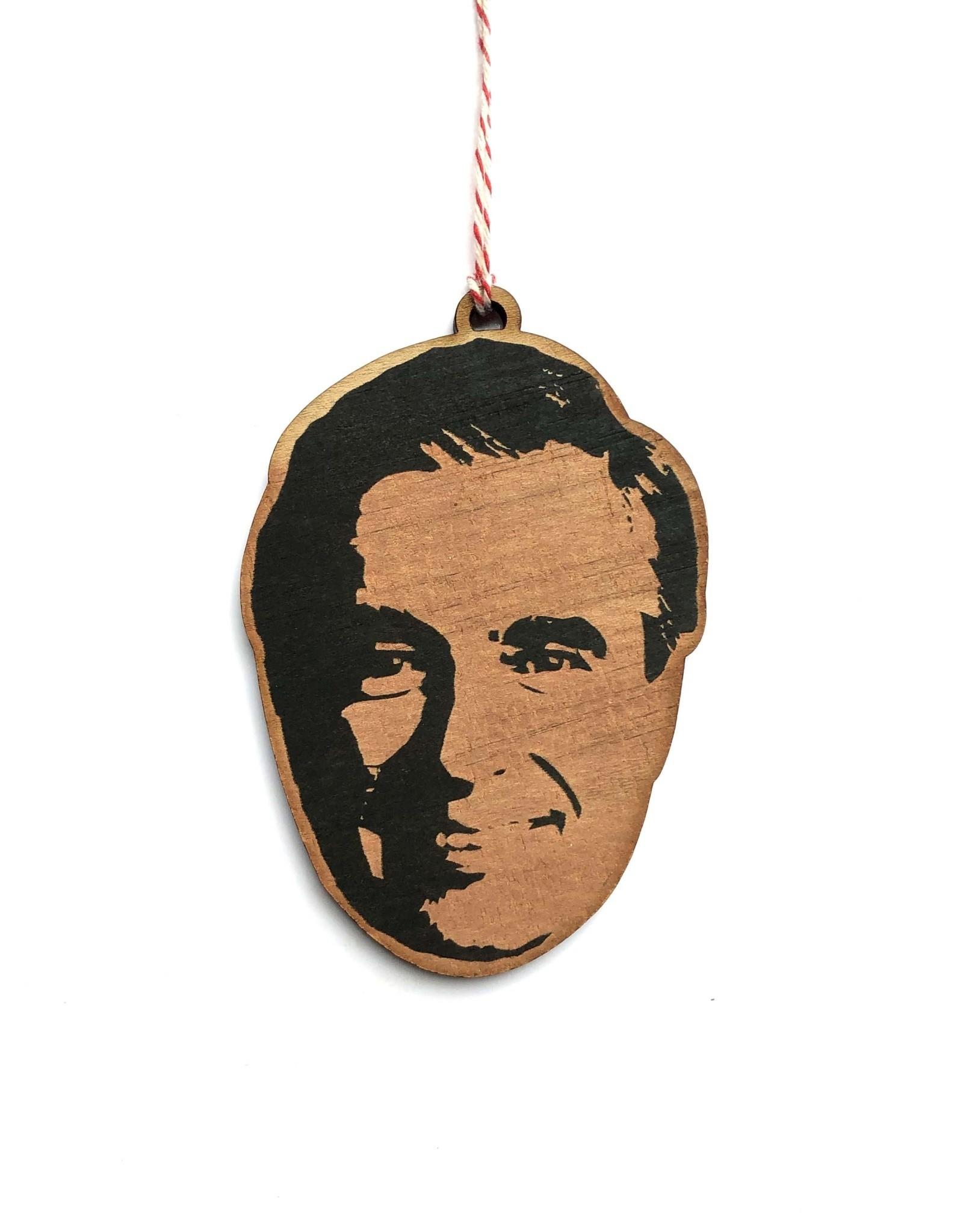 Mr. Rogers Wooden Ornament